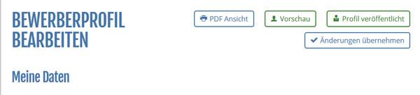 Funktionen Bewerberprofil PDF